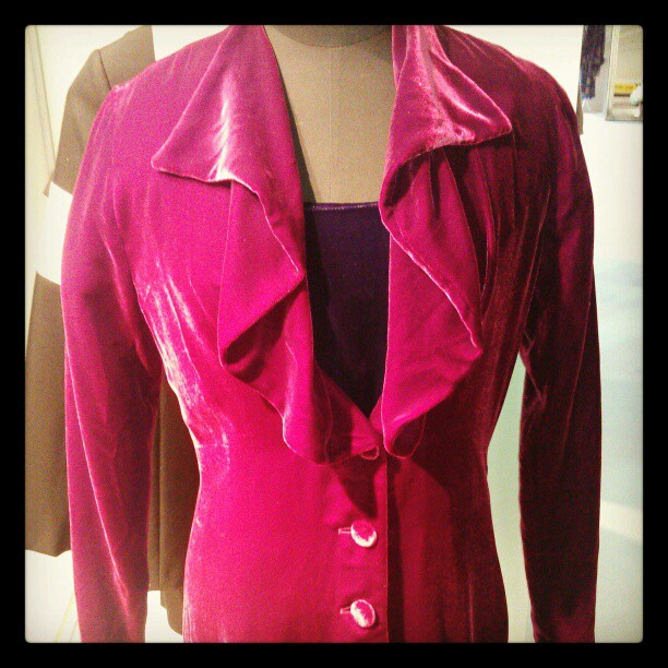 Velvet Coat @pureshow