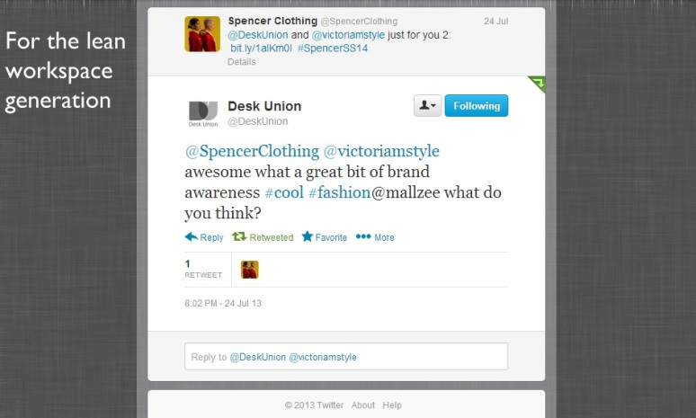 deskunion tweet